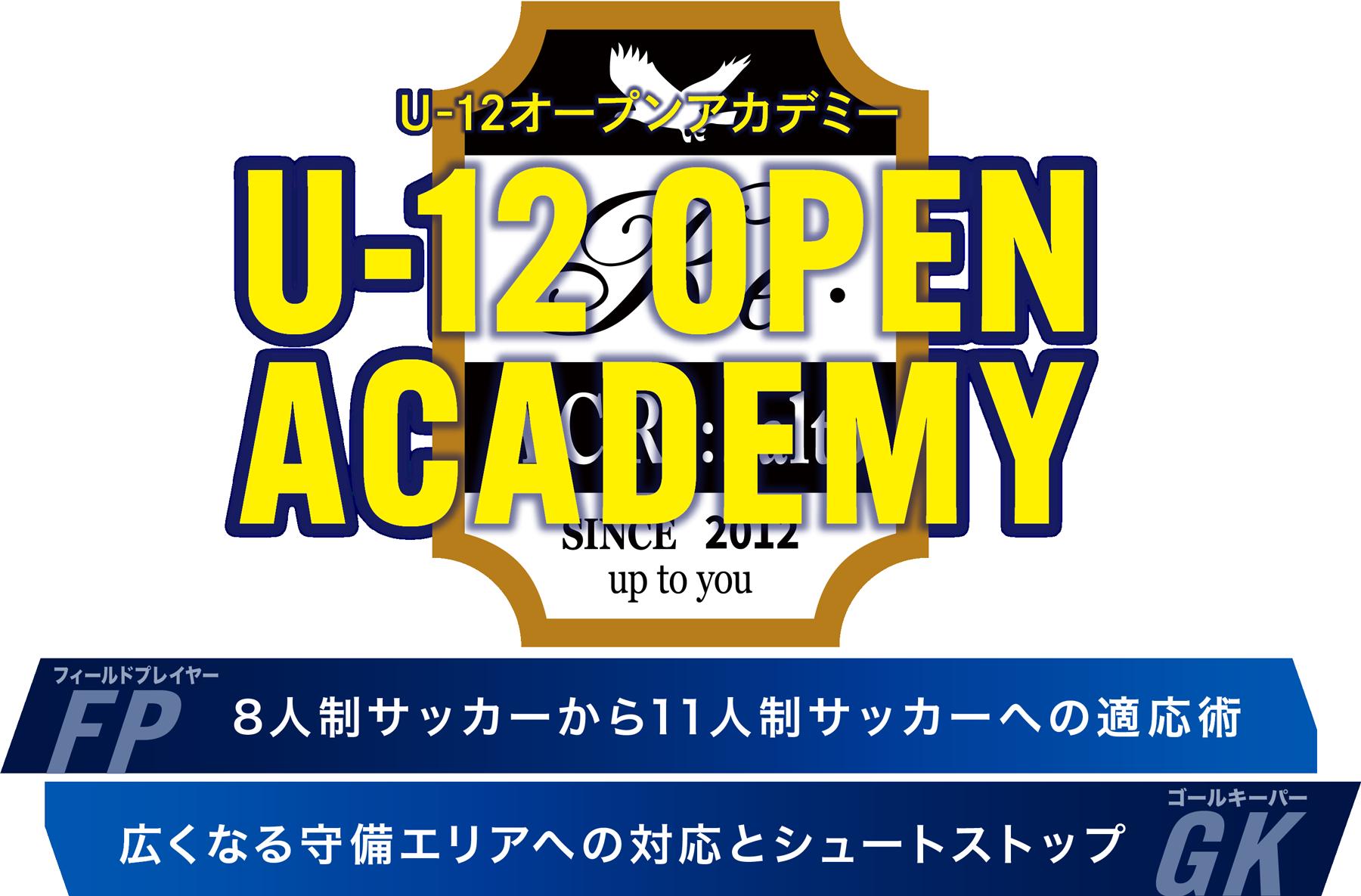 U12 OPEN ACADEMY